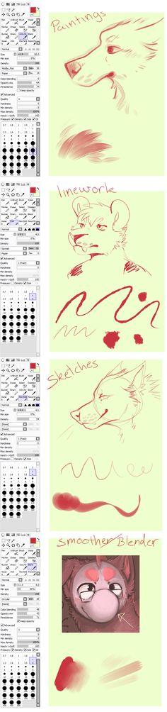 My brushes by SmidgeFish.deviantart.com on @DeviantArt