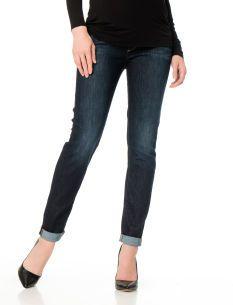 A Pea in the Pod Paige Premium Denim Secret Fit Belly(r) Cuffed Slim Leg Maternity Jeans