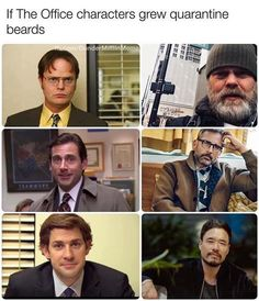 If The Office Characters Grew Quarantine Beards – Meme Check out our Toby Spread Covid 19 Mug here! Haha Funny, Hilarious, Funny Stuff, Funny Things, Random Stuff, Stupid Memes, Funny Memes, Stupid Funny, The Office Characters