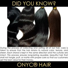 #ONYCHair is a brand you can trust and depend on!  #Hair that doesn't meet our standards, won't be sold.    Shop US Now>>> ONYCHair.com Shop UK Now>>> ONYCHair.uk