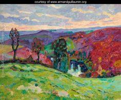 La Vallee De La Creuse Et Le Puy Barriou - Armand Guillaumin - www.armandguillaumin.org