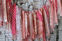 shabby chic girls room scrappy fabric!