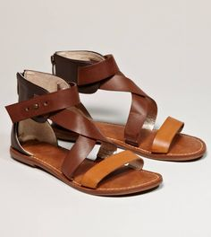 gladiator sandals: WANT.  so perfect for summer.