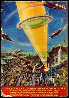 Martians Invade NYC