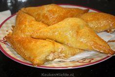 Hartige ham-kaasbroodjes