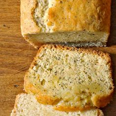 Why mess with a classic? Our lemon-poppy seed bread recipe is just the luscious, lemony snack you were looking for. In case you want to mix things up, we created tangerine, cardamom, and green tea variations.