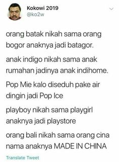 New quotes indonesia lucu hujan ideas Quotes Lucu, Quotes Galau, Jokes Quotes, New Quotes, Faith Quotes, True Quotes, Funny Quotes, Qoutes, Funny Tweets Twitter