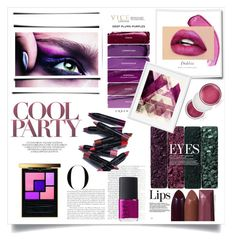 """""""Untitled #309"""" by msbeaunda ❤ liked on Polyvore featuring beauty, Vanity Fair, Yves Saint Laurent, Avon, NARS Cosmetics and Clinique"""
