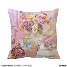 Shades of Pink Pillow