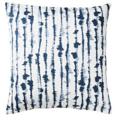 IKEA - BLÅGRAN, Cushion cover, blue, white, Cotton is a soft and easy-care natural material that you can machine wash. The hidden zipper makes the cover easy to remove. Sofa Pillow Covers, Cushions On Sofa, Cushion Covers, Ikea Stockholm, Modern Cushions, Ikea Bed, Cushion Pads, Blue Tones, Natural Materials
