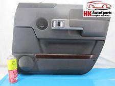 RANGE ROVER 03 04 05 06 07 08 09 FRONT RIGHT PASSENGER DOOR PANEL BLACK W/ CLIPS