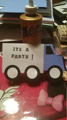 Check out this item in my Etsy shop https://www.etsy.com/listing/269737946/set-of-ten-very-cute-truck-invitations
