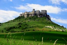 スロバキアの首都、プラチスラヴァから東へ400kmほどの場所にある世界遺産にも指定されている古城 スピシュ城