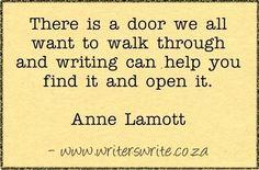 Quotable - Anne Lamott - Writers Write Creative Blog