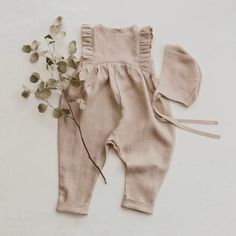 Ethical and natural children's wear by DannieandLilou Outfits Niños, Stylish Outfits, Kids Outfits, Toddler Outfits, Toddler Girls, Summer Outfits, Baby Girl Fashion, Toddler Fashion, Kids Fashion