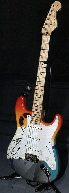 Eric Clapton's Fender Stratocaster Guitar