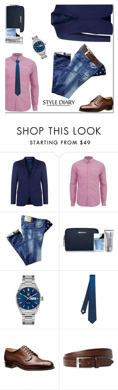"""""""For men, basic"""" by bel-ochka ❤ liked on Polyvore featuring Etro, Scotch & Soda, Michael Kors, TAG Heuer, Burberry, John Varvatos, men's fashion and menswear"""