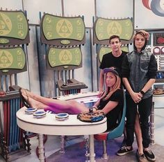 Jace Norman With His Older Sister Named Glory And With His Older Brother Named Xander