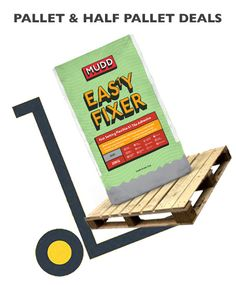 Who doesn't love a pallet deal? Bulk buy and save. MUDD is made by BAL and Eas1y Fixer is a quality product. It's A Fast Setting Flexible S1 Tile Adhesive. Ideal to provide deformability and allow grouting to begin quickly. buythepallet.co.uk Concrete Block Walls, Glazed Brick, Quarry Tiles, Grouting, Non Slip Flooring, Glazed Ceramic Tile, Plasterboard, Adhesive Tiles, Underfloor Heating
