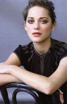 Marion Cotillard ... pretty and French.