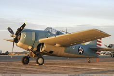 F4F Wildcat - reminds me of how my Dad loves planes.