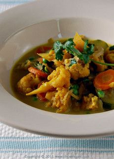 2nd Avenue Vegetable Korma From Appetite For Reduction by chow vegan, via Flickr