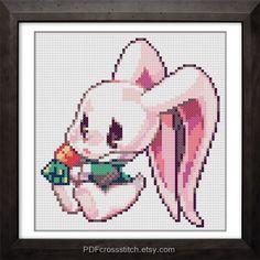 0129Rabinny   PDF Cross Stitch pattern  Buy 1 by PDFcrossstitch, $6.00