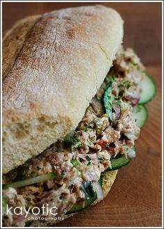 Made this several times. This is the best tuna salad sandwich ever. Tuna sandwich on crack.