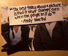 people change or maybe you just never knew them...