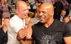 Royce Gracie e Mike Tyson UFC 160 (Foto: Getty Images)
