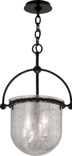 "View the Troy Lighting F2563 Mercury 3 Light 22"" Urn Pendant with Mercury Glass Shade at LightingDirect.com."