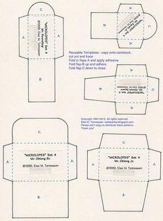 Шаблоны конвертиков
