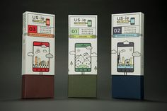 US-ie: Monopod & Carrier (Student Project) on Packaging of the World - Creative Package Design Gallery
