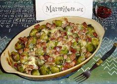 Choux de Bruxelles à la tomate - Recette de cuisine Marmiton : une recette