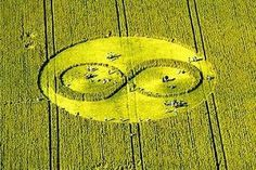 """Inglaterra: """"Signo Infinito en los Campos de Trigo - Fotos en AMOR:NATURALEZA, ANIMALES Y VIAJES"""