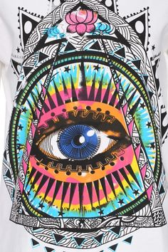 ☮ American Hippie Art ~ Psychedelic .. Eye