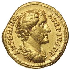 ncient Gold Coins - Roman / ANTONINUS PIUS, (A.D. 138-161), gold aureus... Realisation Price $4,800.00 AUD... Click VISIT to find out more and see 10,000+ Gold Coins at MAD On Collections. Please feel free to pin or share this coin. #GoldBullion