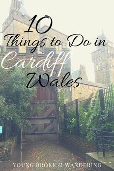 Visiting Cardiff soon? Be sure to check out this post of 10 things to do in Cardiff Wales for your next trip! Visit Cardiff, Cardiff Wales, Wales Uk, South Wales, Rafting, Europa Tour, Welsh Castles, Honeymoon Photography, Dartmoor National Park