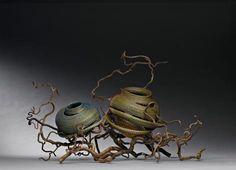 Basketmaker Debora Muhl turns sweetgrass into sculpture, deconstructing traditional forms into twisting, wild works.