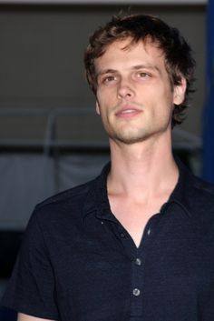 Matthew Gray Gubler, actor from criminal minds. Maybe it's because he's cute and awkward. 《¤@Healthy_HappyMe ¤》