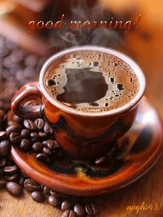 coffee gif | 105818  -Good-Morning-Coffee.gif