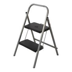 Syneco 100kg 2 Step Steel Folding Step Ladder I/N 0860343 | Bunnings Warehouse