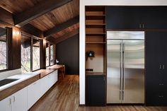 Japanese-Inspired Bainbridge Island house kitchen