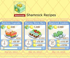 Bakery Story's Shamrock Oven and Recipes