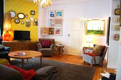 Quirky little sitting room!