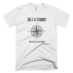 Life's A Journey Inspirational Short Sleeve Men's T-Shirt