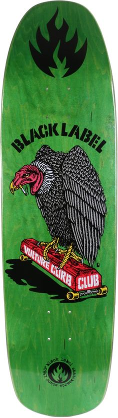 black-label-vulture-curb-club-875-skateboard-deck-green