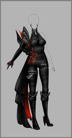 deviantART Outfit design - 95 - closed by LotusLumino* | Outfit design - 95 - closed by LotusLumino