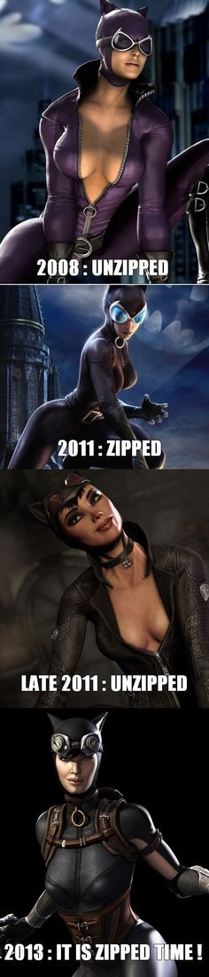 Injustice, it's zipped time! #funny