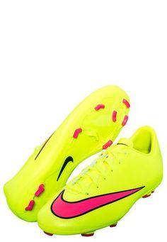 Zapatilla Kids Deportiva Mercurial Victory V Fg Verde Fluorescente Nike Nike